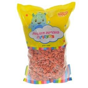 حلوى تزيين نجوم احمر 1 كغم