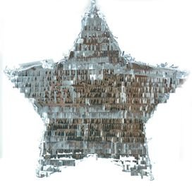 פינאטה - כוכב כסף