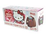 ثلاثية بيض شوكولاطة حليب هلو كيتي
