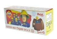 ثلاثية بيض شوكولاطة حليب سامي رجل الاطفاء