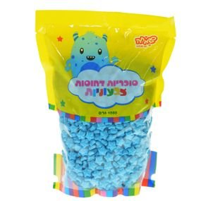 حلوى تزيين نجوم ازرق سماوي 1 كغم