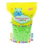 """סוכריות קשות כדורים 1 ק""""ג ירוקים"""