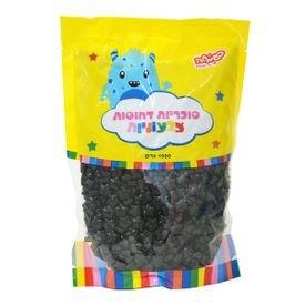 """סוכריות קשות כוכבים 1 ק""""ג שחורים"""