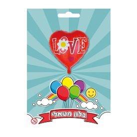 בלון מיילר 18- love אדום לב