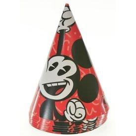 כובעים ליום הולדת 6 יח' - מיקי מאוס