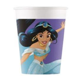 כוסות נייר 8 יח נסיכות דגם חלומות בהקיץ
