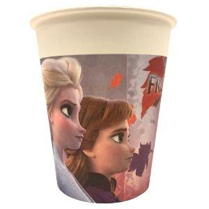 כוסות נייר 8 יח נסיכות דגם פרוזן ii