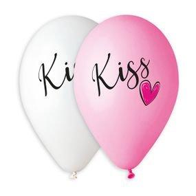 بالون طباعه kiss  100 قطعة