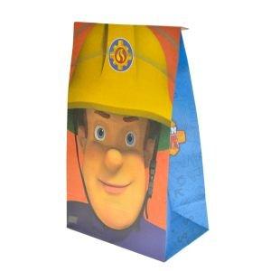 أكياس ورق 6 قطع  سام رجل الإطفاء