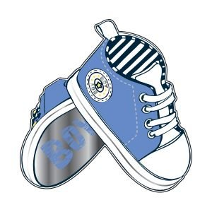 בלון מיילר 26- נעליים תינוק-boy