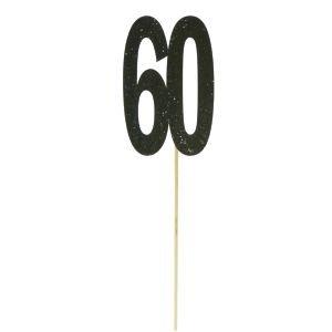توبر براق اسود مع تاج 60
