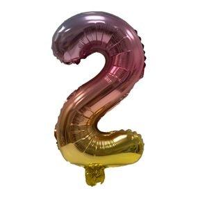 """بالون 5"""" نفخ ذاتي اومبري 2"""