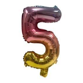 """بالون 5"""" نفخ ذاتي اومبري 5"""