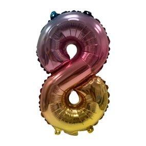 """بالون 5"""" نفخ ذاتي اومبري 8"""