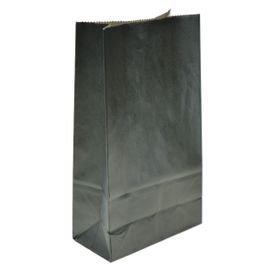 שקית נייר בסיס- שחור 6 יח