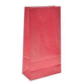 שקית נייר בסיס- אדום 6 יח