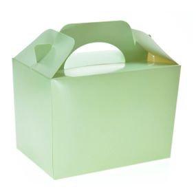 קופסת לאנץ בוקס קרטון מקרון מנטה 6 יח