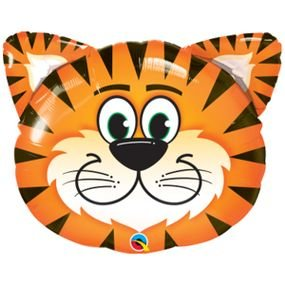 """بالون 30"""" رأس نمر"""