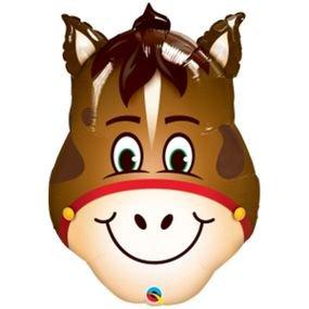 "بالون 32"" رأس حصان"