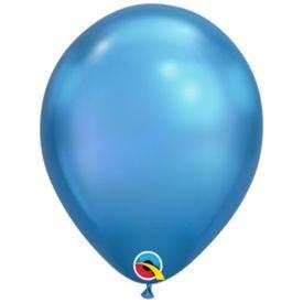 בלוןq7כרום כחול - 100 יח