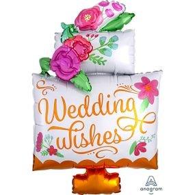 """בלון 36"""" עוגת חתונה"""