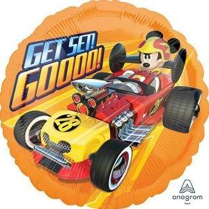 """بالون 18"""" ميكي سيارة سرعة"""