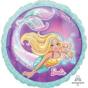 """بالون 18"""" باربي عروس البحر"""
