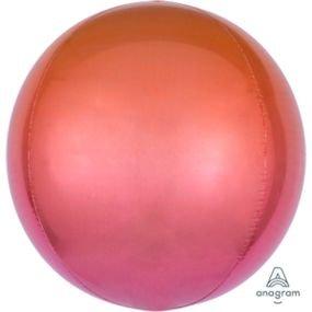 """بالون 15"""" ثلاثي الابعاد مدمج لون نحاسي"""
