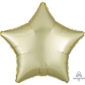 "بالون 18"" نجمه اصفر باستيل ماط خروم"