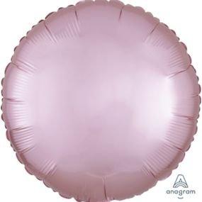 """بالون 18"""" دائره وردي ماط خروم"""