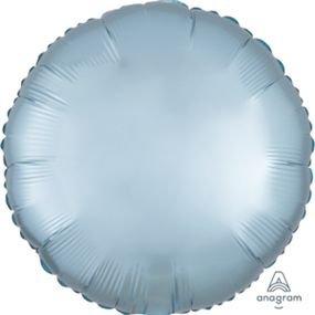 """بالون 18""""دائره ازرق باستيل ماط خروم"""