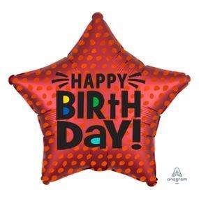 מיילר 18 סאטן כוכב יום הולדת