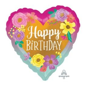מיילר 18 יום הולדת שמח פרחים