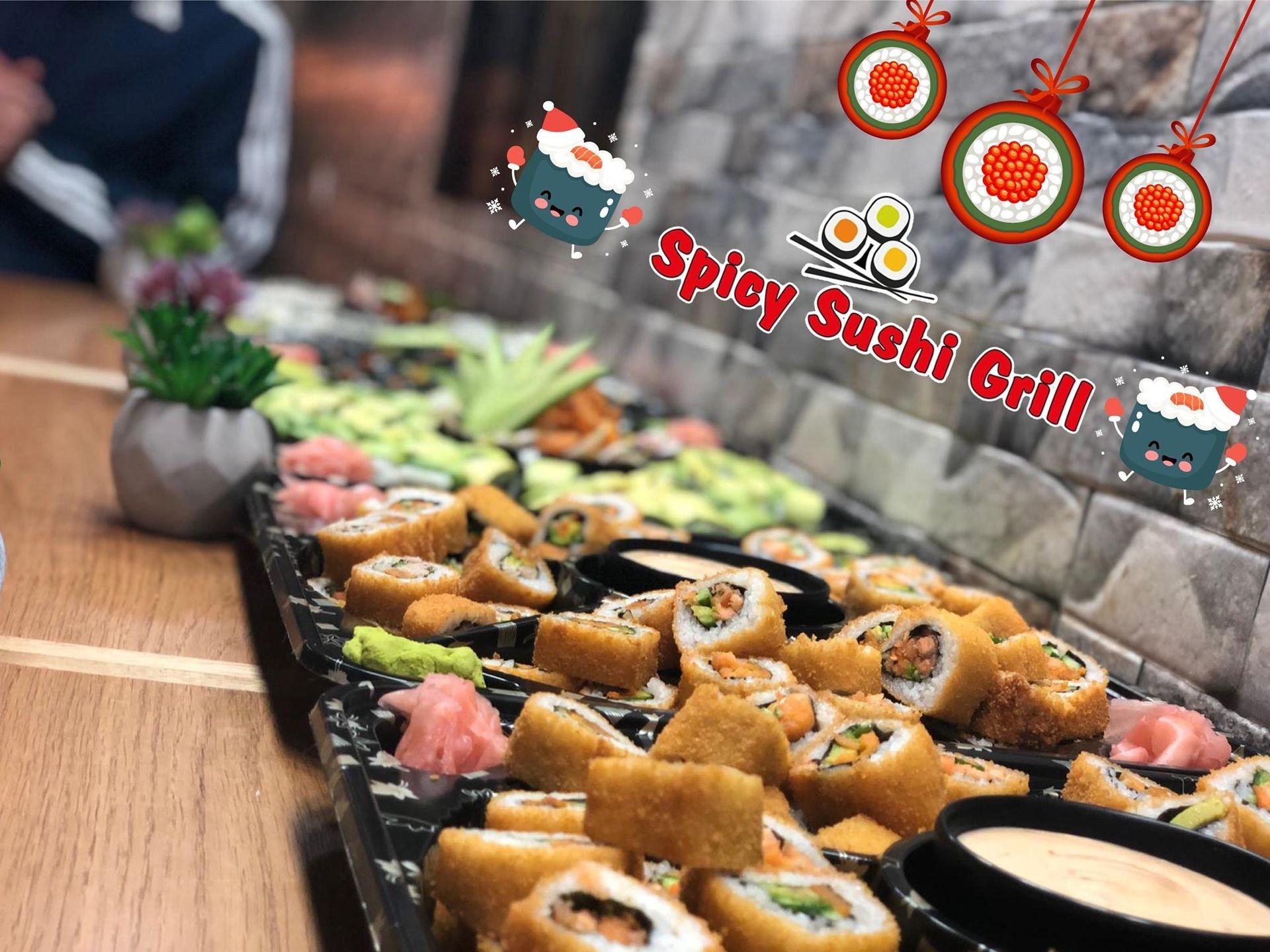 8 Spicy sushi Grill תְמוּנָה