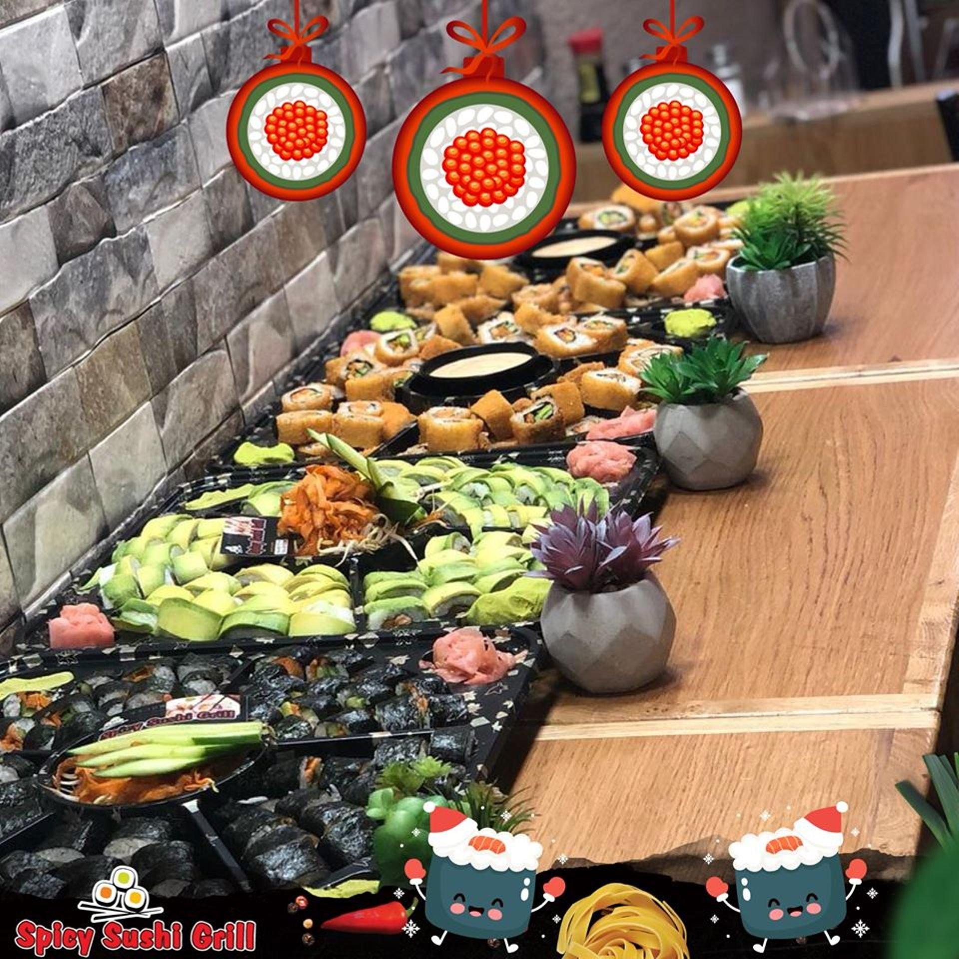 1 Spicy sushi Grill תְמוּנָה