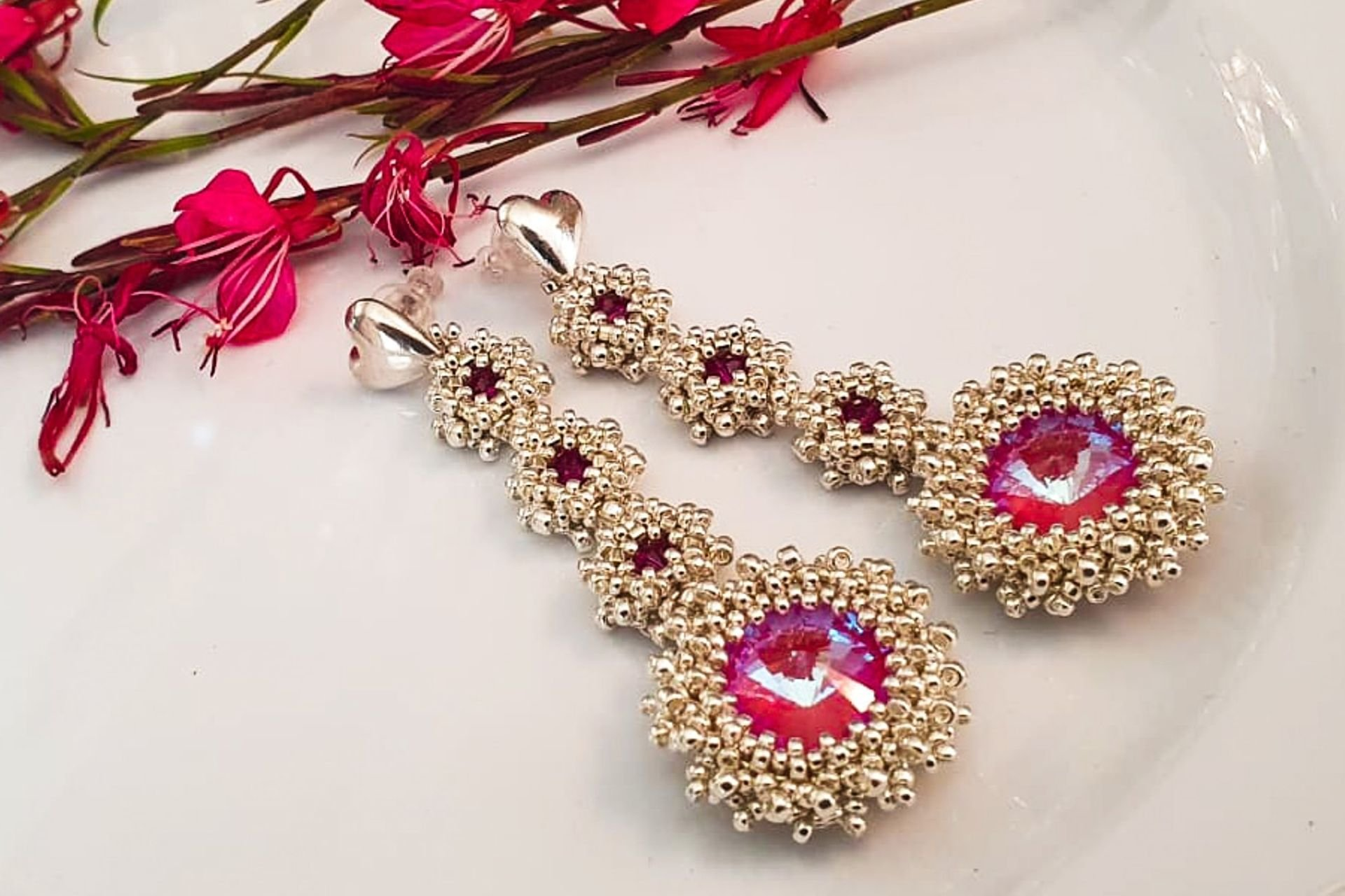 2 lantana beads jewelry designer תְמוּנָה
