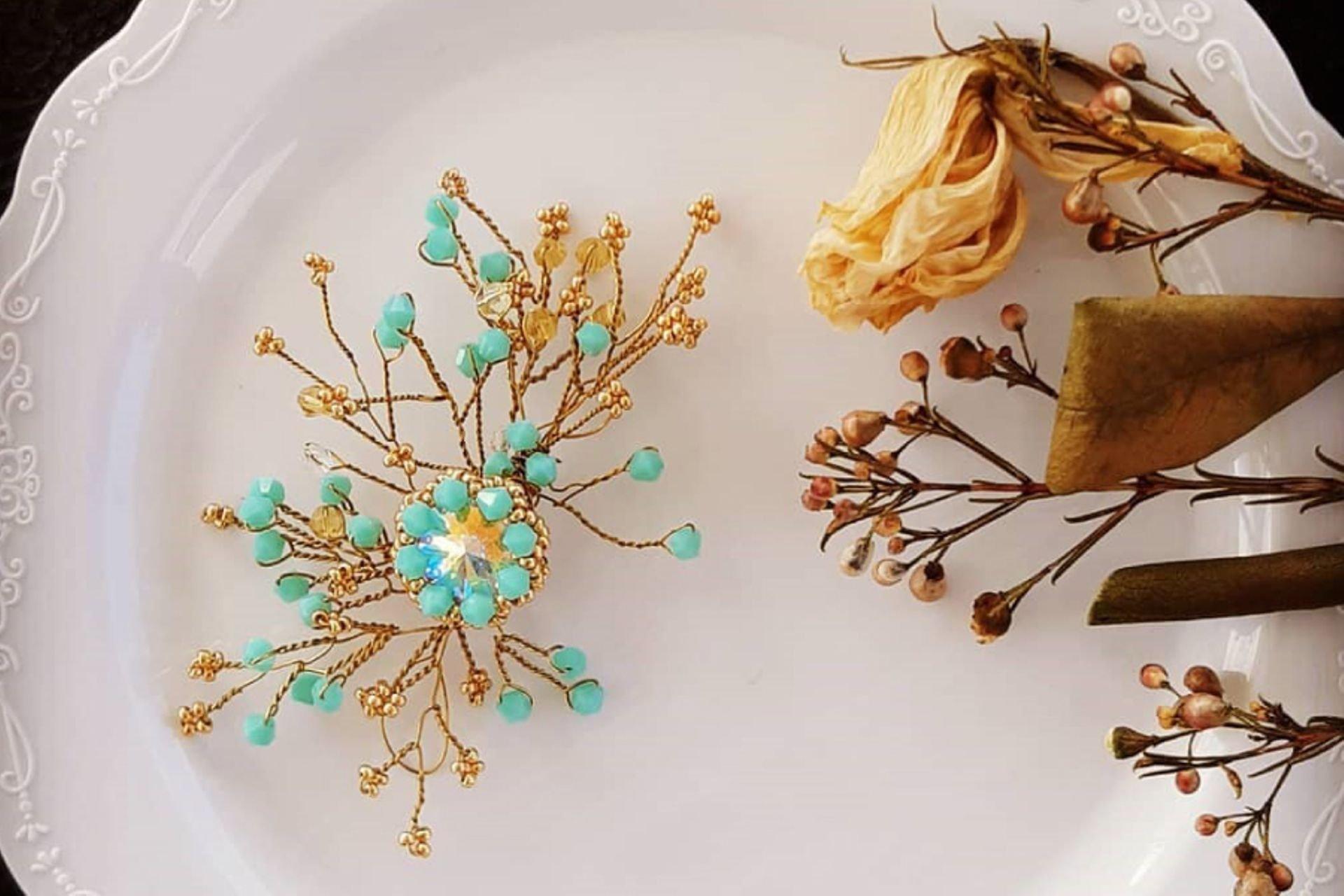 35 lantana beads jewelry designer תְמוּנָה