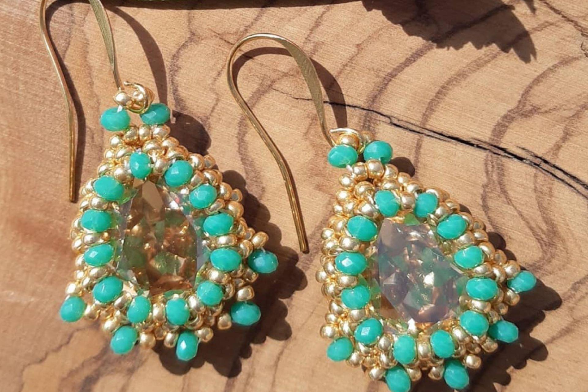 20 lantana beads jewelry designer תְמוּנָה