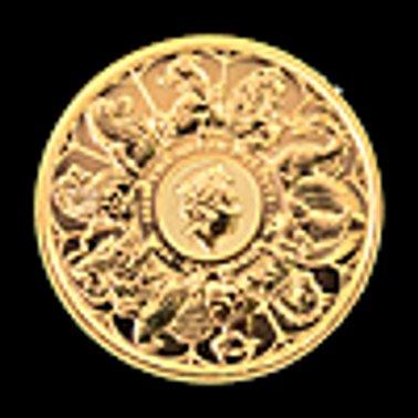 العملة الذهبية الخالصة لملكة إبريطانيا