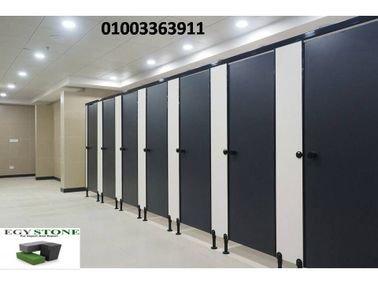 قواطيع حمامات مستوردة  (polyrey -greelam-poly bett ) من شركة ايجي ستون