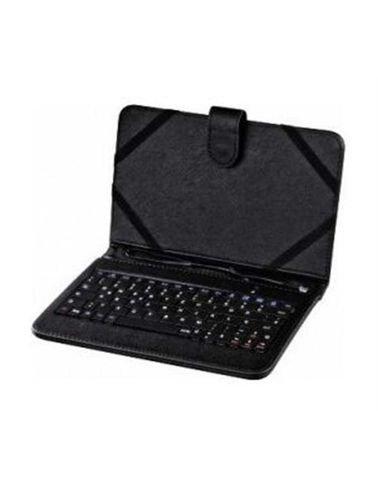 Hama OTG 7-inch Universal Keyboard Case Black color keyboard 50467
