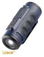 مشغل MP3 مع مكبر صوت وضوء فلاش من iBeat سعة 2 جيجابايت لون أزرق