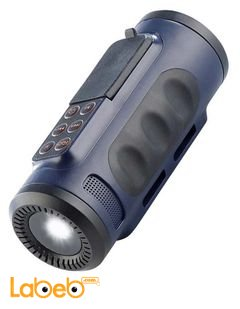 iBeat Road MP3 Player with Speaker & Flashlight - 2GB- Blue color