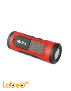 iBeat Road MP3 Player with Speaker & Flashlight- 2GB- Red color