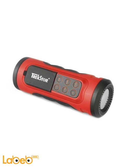 iBeat Road MP3 Player with Speaker & Flashlight 2GB Red color