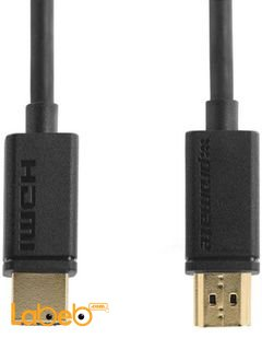 Promate HDMI Cable- Flexshield - 1.5 meter - Black color