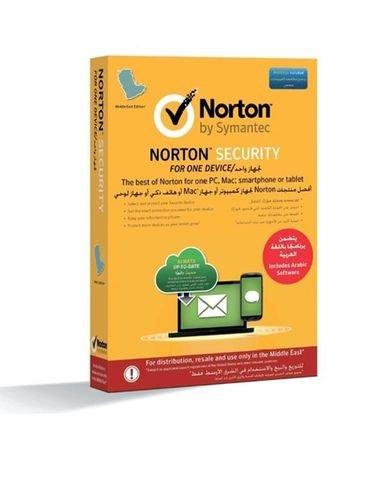 برنامج انتي فايروس نورتون سيمانتيك لمستخدم واحد لمدة عام