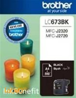 Brother LC673BK High-Yield Ink Cartridge Black color