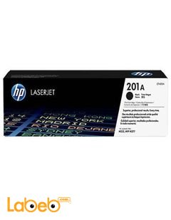 HP 201A LaserJet Toner Cartridge - Black color - CF400A
