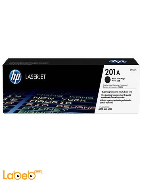 HP 201A LaserJet Toner Cartridge Black color CF400A